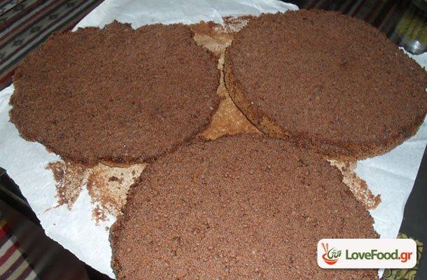 Σοκολατένιο παντεσπάνι (Βάση για κάθε καθώς πρέπει τούρτα)