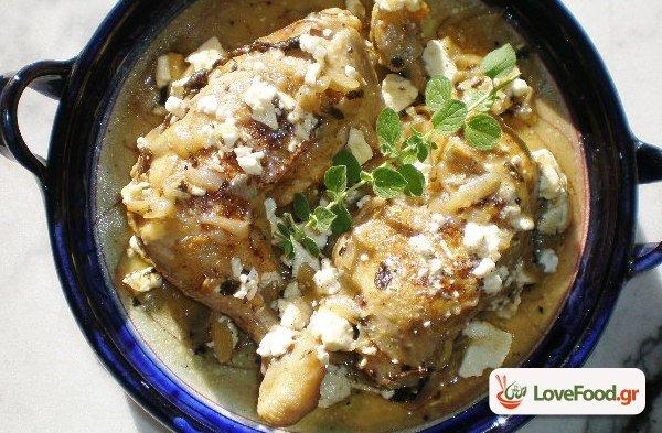 Μπαρδουνιώτικο κοτόπουλο . Η κότα του Σπαρτιάτη