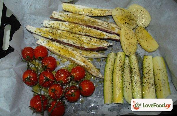 Λαχανικά στον φούρνο