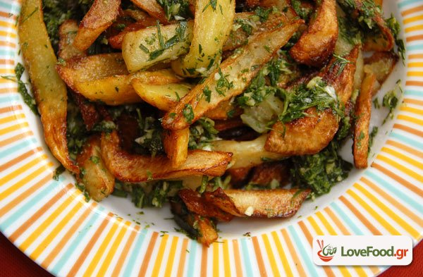Πατάτες τηγανητές αλά προβενσάλ & αναμνήσεις από Μπουένος Άίρες