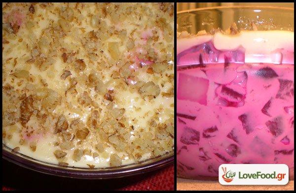 Παντζαροσαλάτα με τυρί- La vie en ροζ.