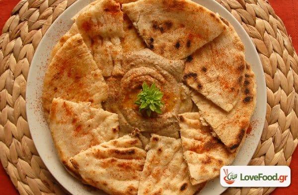 Μπαμπά γκανούς, αραβική μελιτζανοσαλάτα με ταχίνι