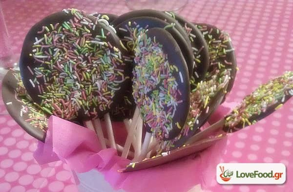 Σοκολατένια γλειφιτζούρια για …πάρτυ τους