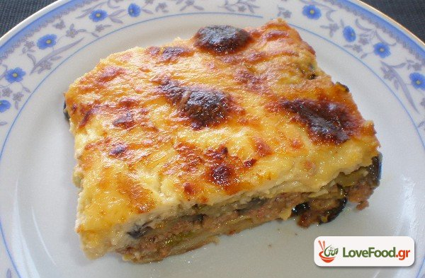 Μουσακάς. The famous greek mousaka