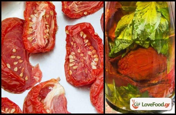 Σπιτικές λιαστές ντομάτες, με την χορηγία του Ελληνικού ήλιου.