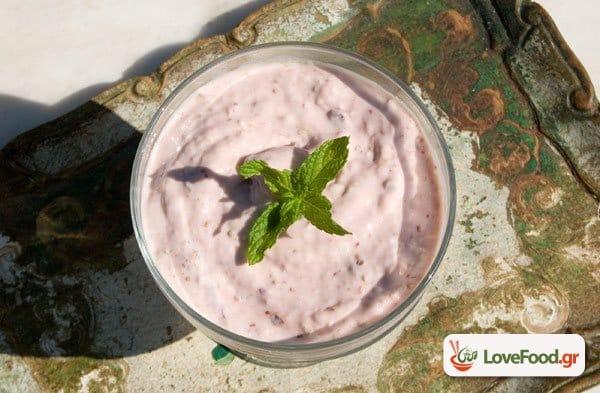 Εύκολο Παγωμένο γιαούρτι με σύκο 1,2,3 frozen yogurt!