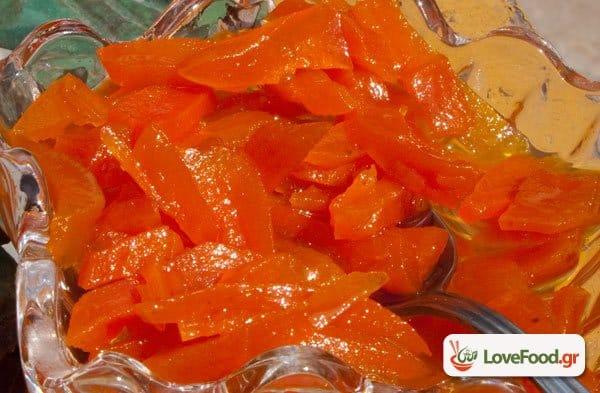 Γλυκό του κουταλιού καρότο, μνιααα ουάτς απ ντοκ;