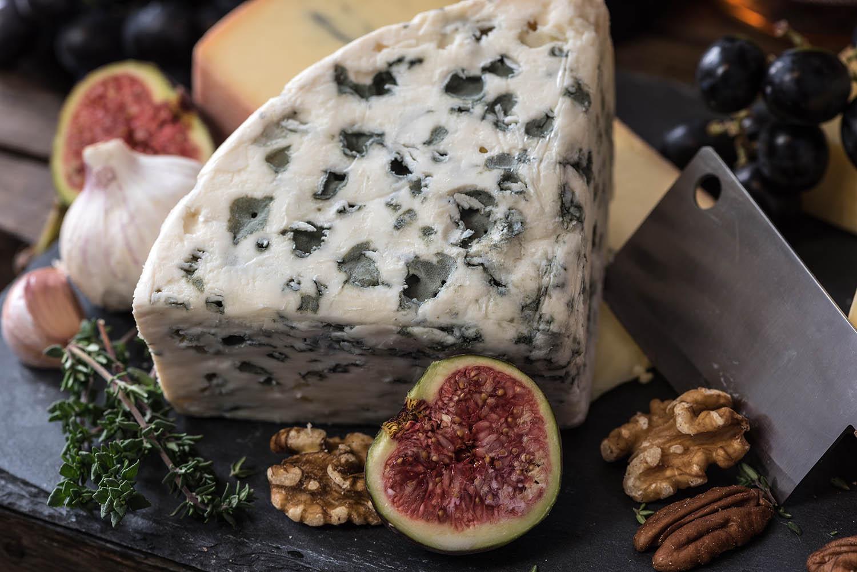 Σύκα με μπλε τυρί