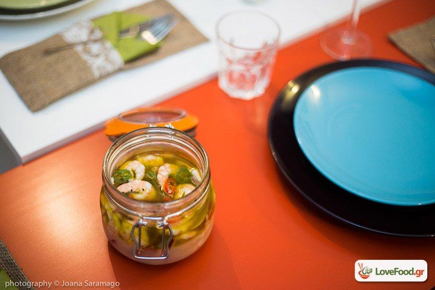 γαρίδες μαρινάτες